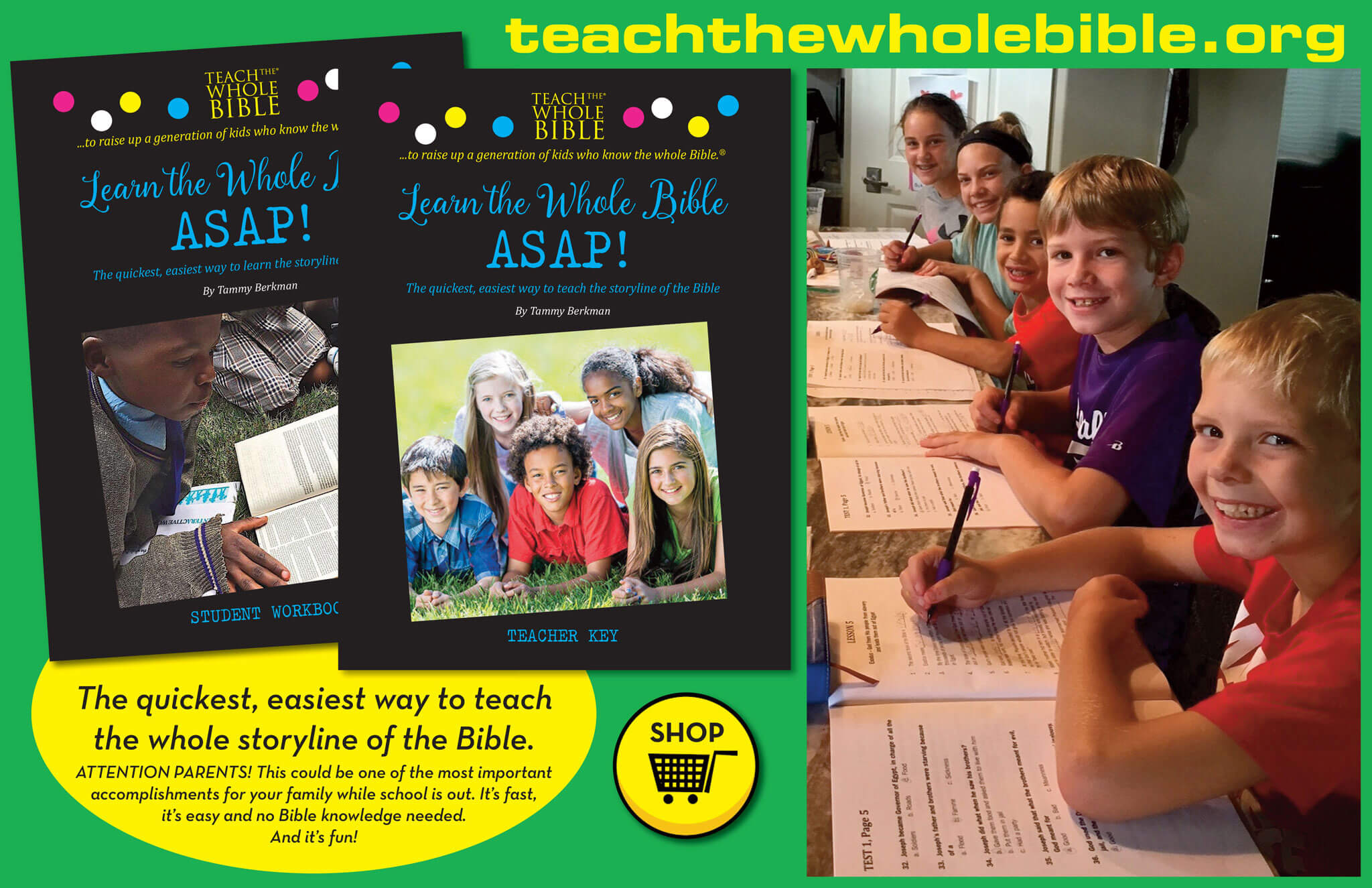 teach the whole bible ad